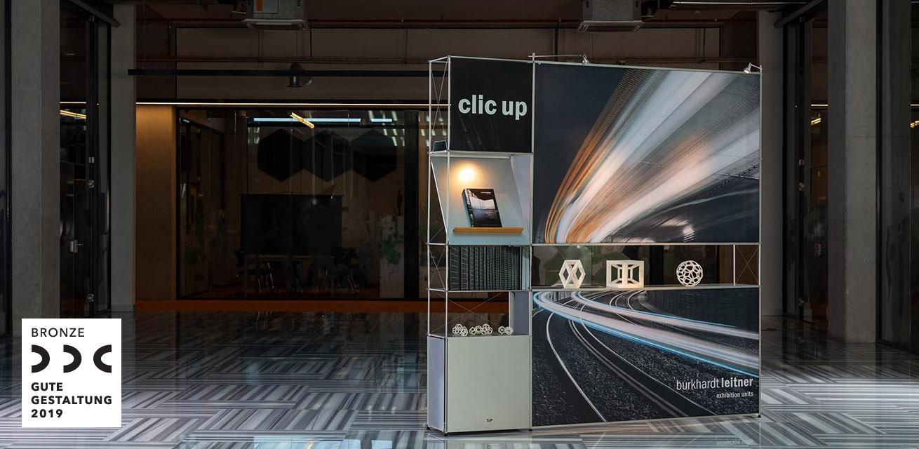 Der erste Designpreis für clic up