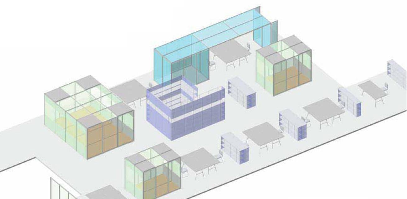Raum-in-Raum Lösungen – Office