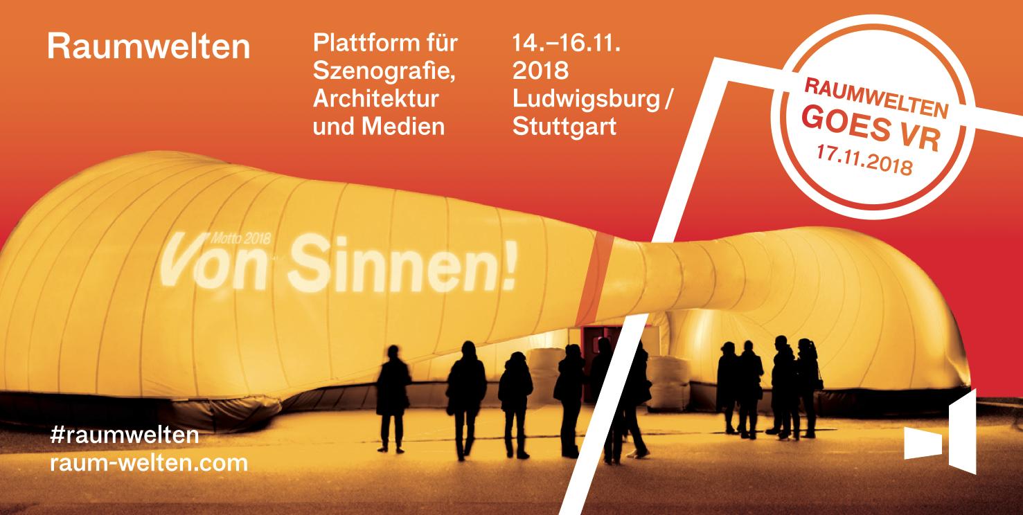 Raumwelten – Plattform für Szenografie, Architektur und Medien